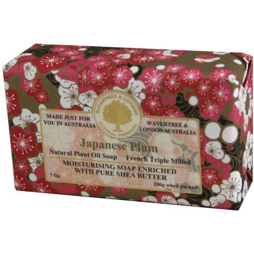 Wrapped Soap Japanese Plum