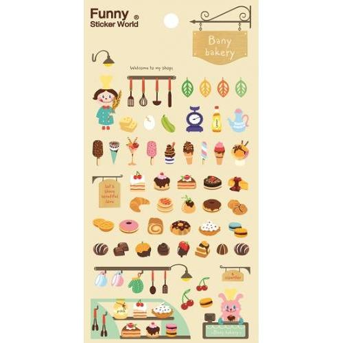 Stickers - Bany Bakery