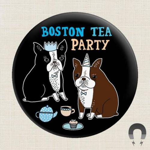 Magnet - Boston Tea Party