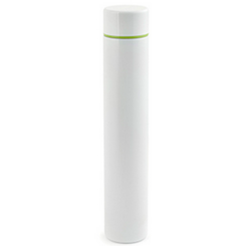 Travel Water Bottle Slim White