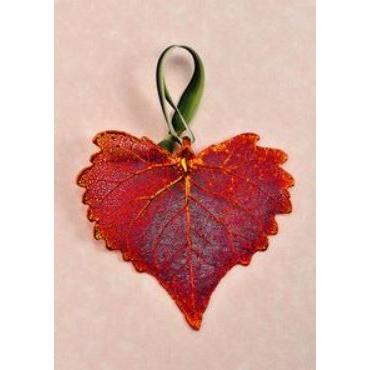 Ornament Cottonwood Iridescent (red)