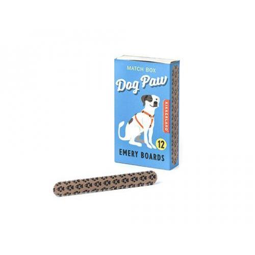 Emery Board Dog Paw Match Box