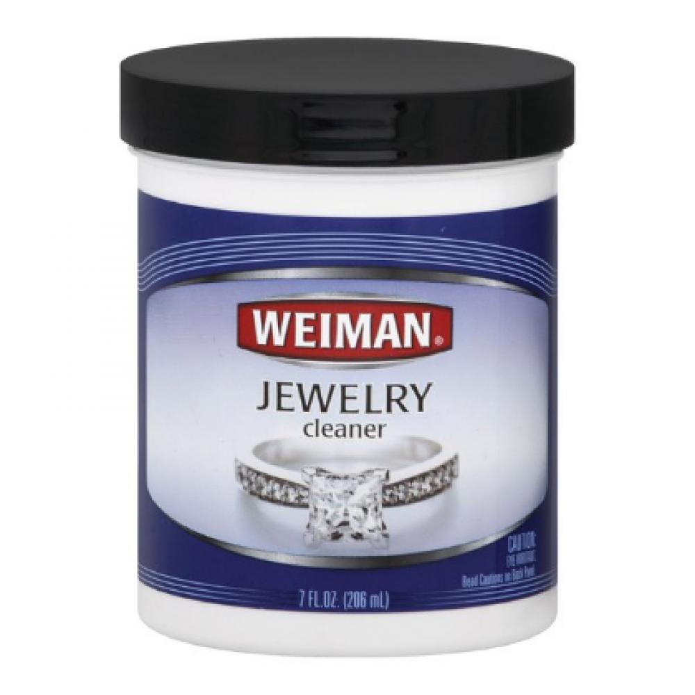 Jewelry Cleaner W/ Brush Weiman 7 Oz