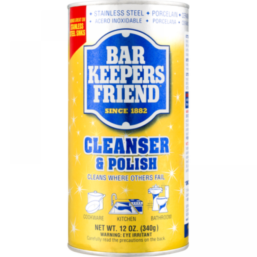 Cleaner & Polish Bar Keepers Friend 12 Oz