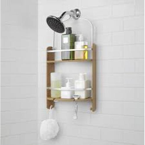 Shower Caddy Barrel Natural