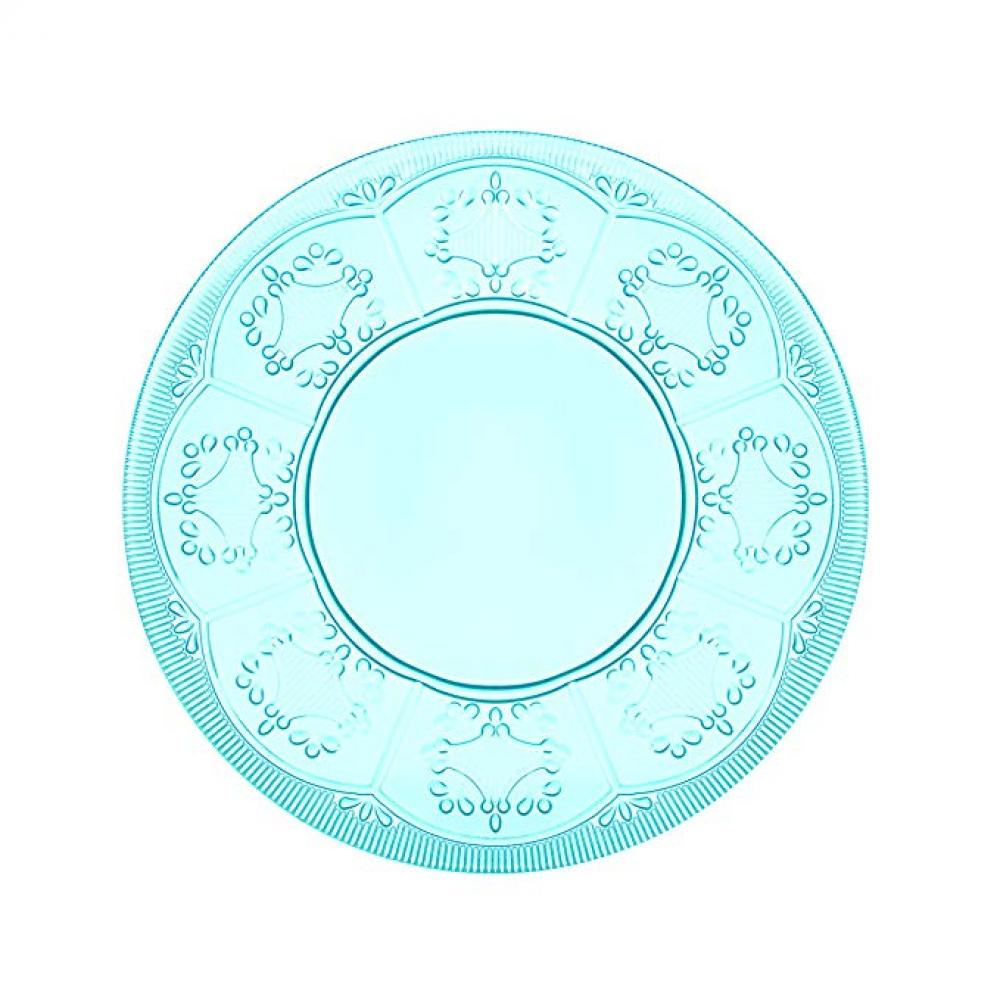 Dinnerware Trestle Glass Blush Plate