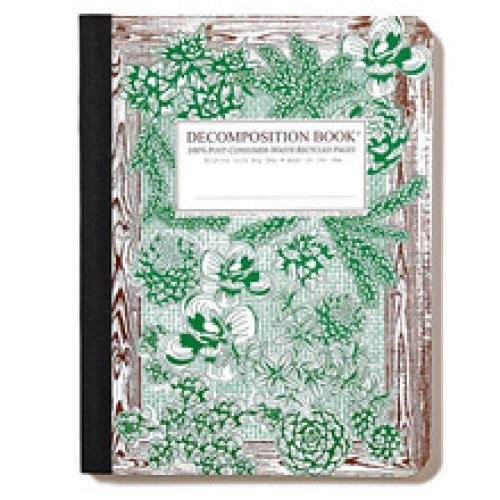 Decomposition Notebook - Succulents