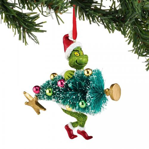 Ornament - Grinch Stealing Tree