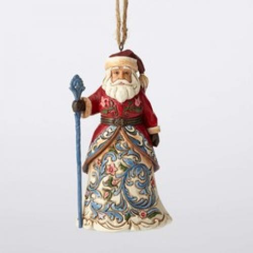 Ornament - Jim Shore Santa Norwegian
