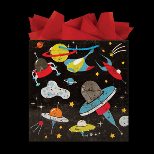 Gift Bag Large Square Space Coaster