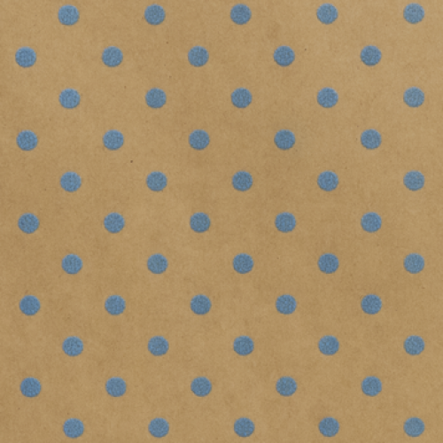Wrapping Paper Dim Dot Teal
