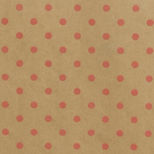 Wrapping Paper Dim Dot Sherbert