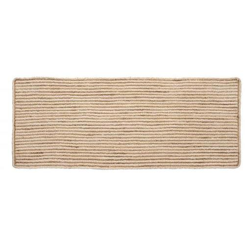 Valencia Braided Rug Runner Natural 27in X 72in