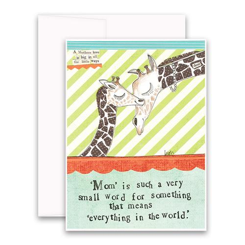Mother\'s Day - Giraffe
