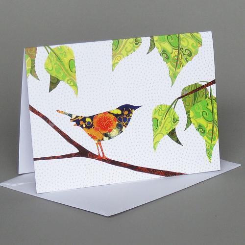 Vermont Artist - Bird In Birch
