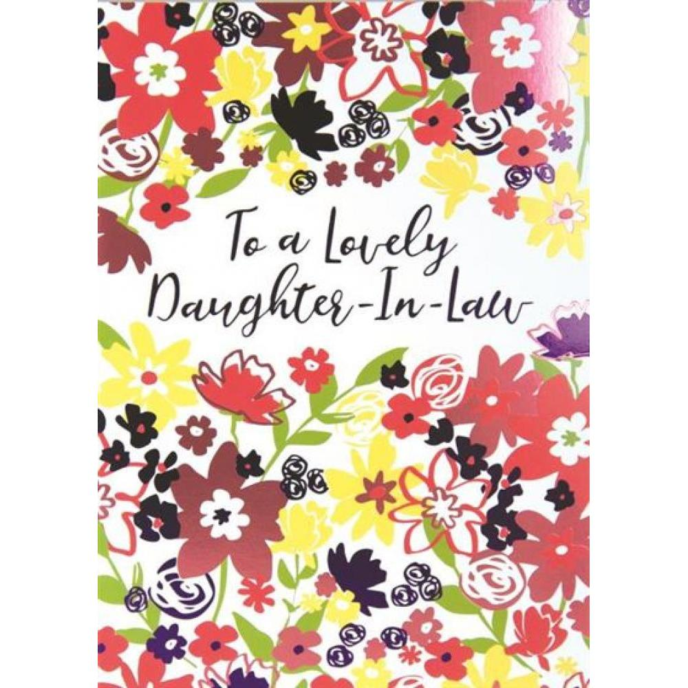 Mothers Day - Daughter In Law - Garden Brights
