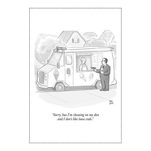 Any Occasion - New Yorker - Cheating On My Diet