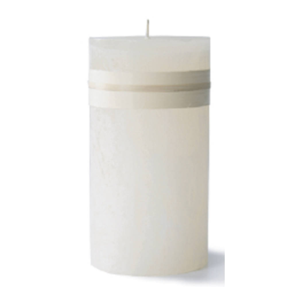 3.25 X 3in Pillar Candle - Melon White