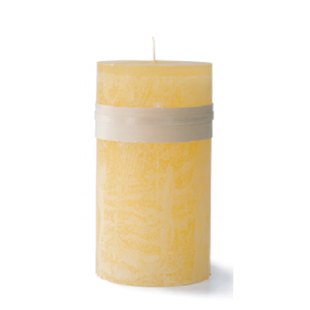 3.25 X 3in Pillar Candle - Pale Yellow