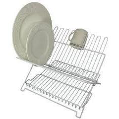 Dish Rack Folding White