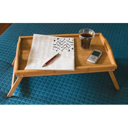 Serving Tray Bamboo Bed Folding