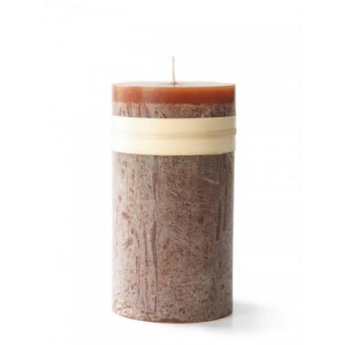 2 X 4in Pillar Candle - Caramel