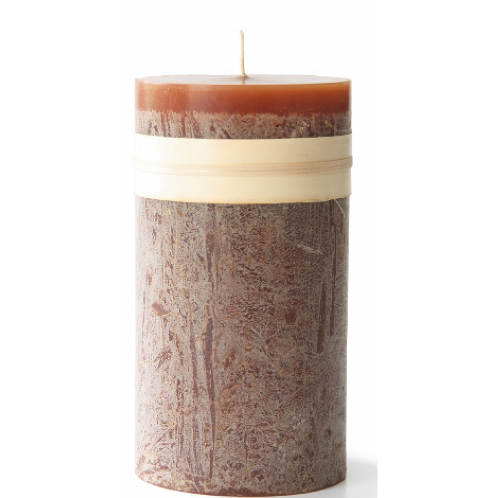 3.25 X 3in Pillar Candle - Caramel