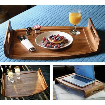 Serving Tray Acacia Reversable