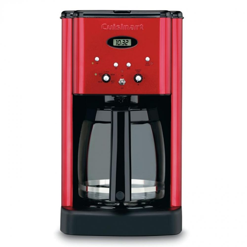 Electric Coffee Maker Brew Central 12cup Metallic Red