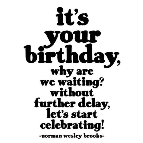 Birthday - It\'s Your Birthday ... - Norman Wesley Brooks - Blank Inside