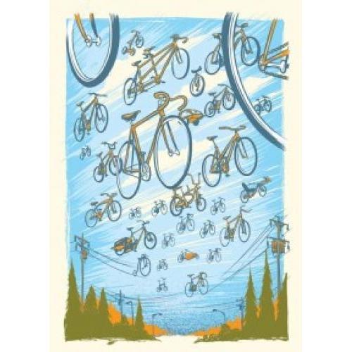Boxed Card - Bikes Assortment