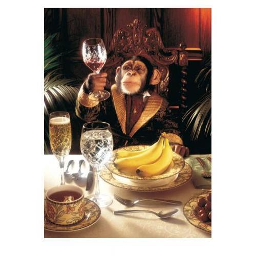 Birthday - Chimp & Goblet