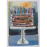 Vermont Artist - Chocolate Cake