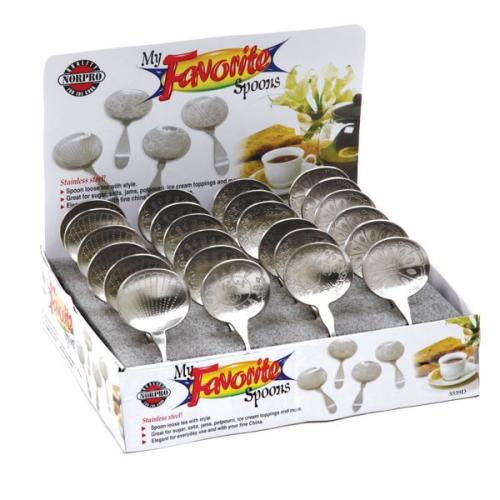 Tea Bag Holder Spoon Rest Metal Assorted