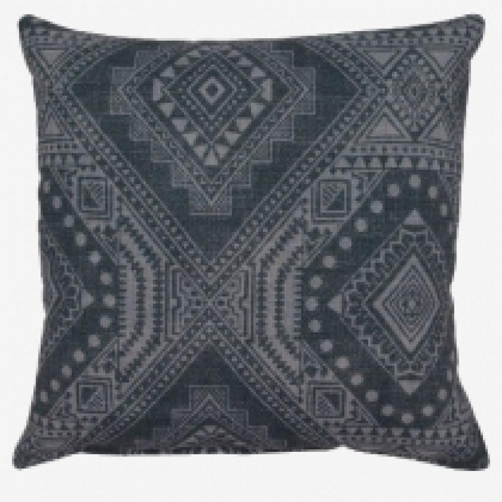 Mayton Charcoal Floor Pillow 26in X 26in