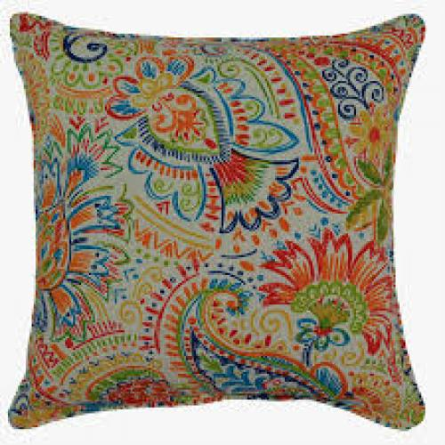 Gilford Festival Outdoor Pillow 17in X 17in