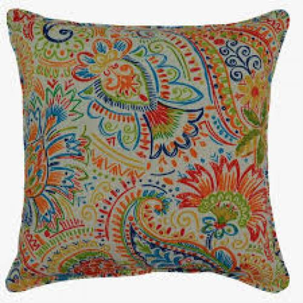 Gilford Festival Outdoor Lumbar Pillow 12.5in X 19in