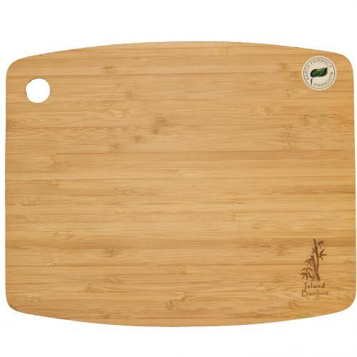 Cutting Board Bamboo Cuisin Air Utility Rectangle Bowed 8x6