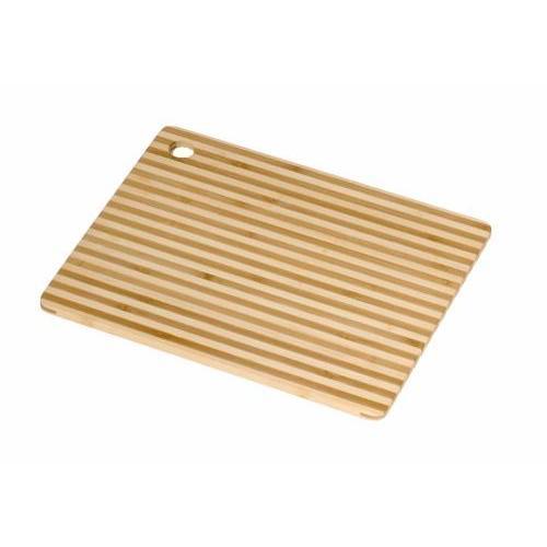 Cutting Board Bamboo Honey Stripe Stripes 8x6