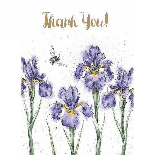 Thank You - Irises