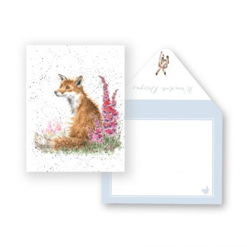 Enclosure Card - Foxgloves
