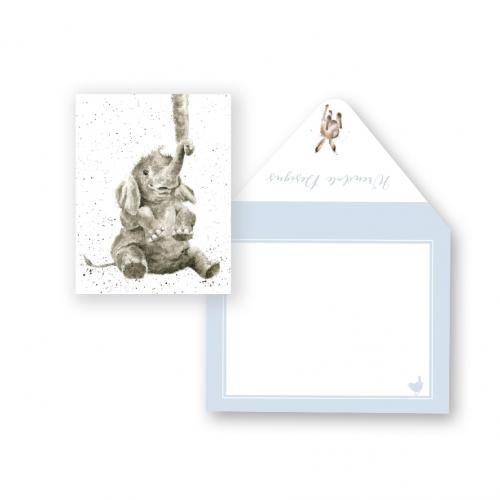 Enclosure Card - Baby Elephant