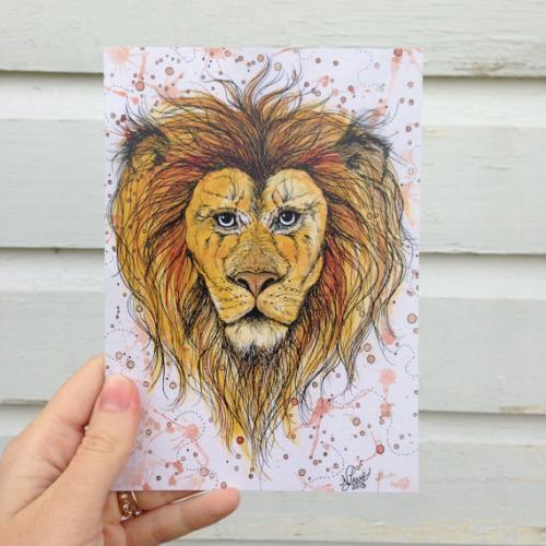 Vermont Artist - Lion
