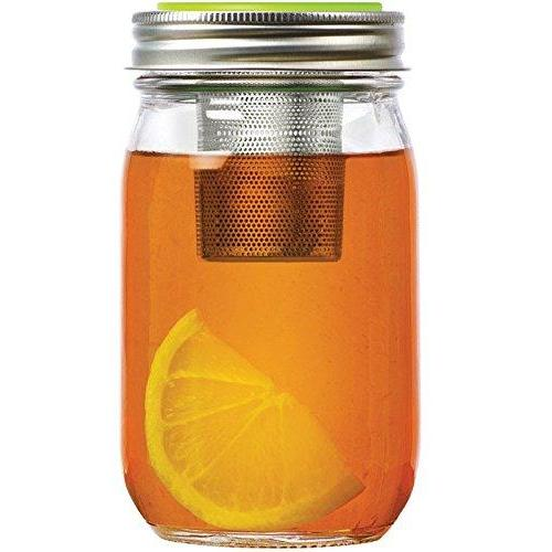Jarware Regular Mouth Jar Lid Tea Infuser