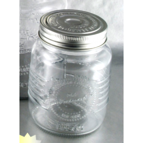 Glass Jar Screw-top Old Fashioned 12oz