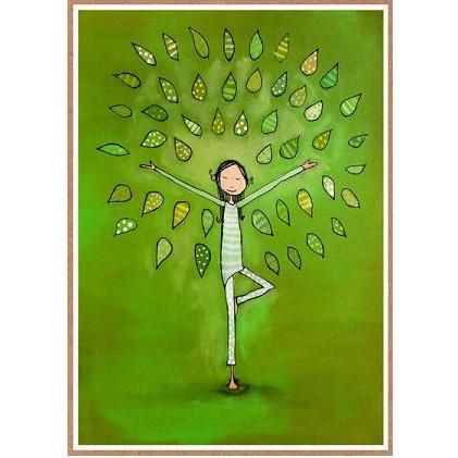 Birthday - Tree Pose - Mosaic