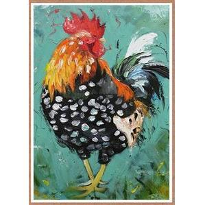 Any Occasion - Spotted Rooster - Mosaic