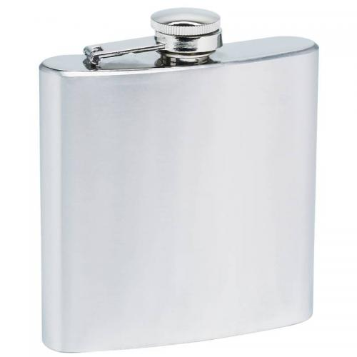 Travel Hip Flask Stainless Steel 6oz