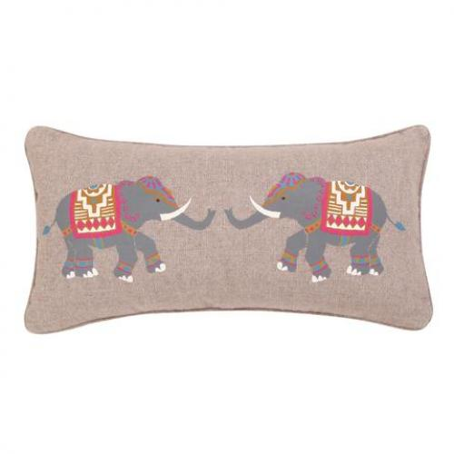 Tangier Elephant Pillow
