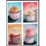 Vermont Artist - Cupcakes